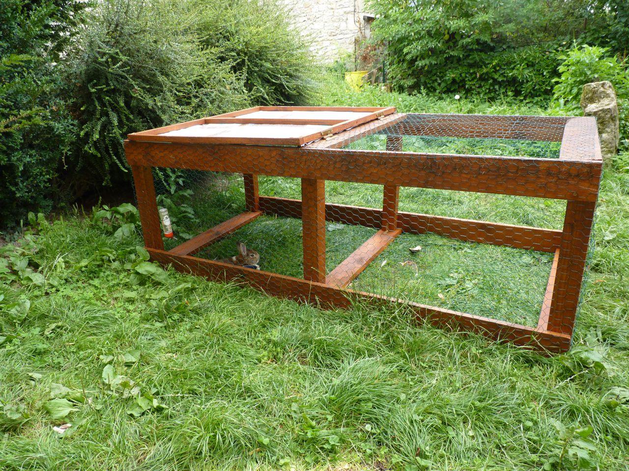 Vos parc lapin 1 forum cheval for Cabane pour lapin exterieur