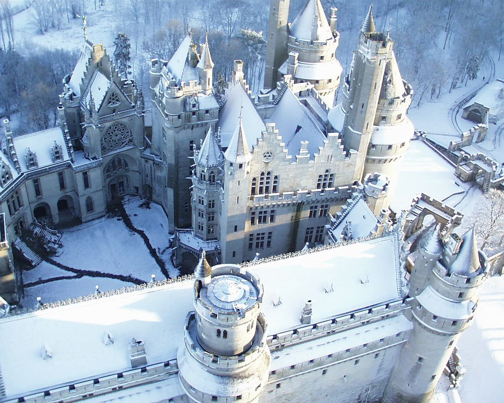 Chateau de Pierrefonds, France