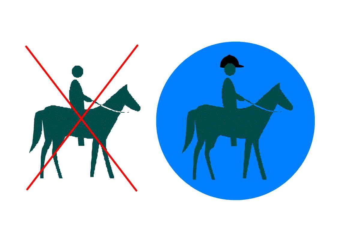 Affiche port du casque 1 forum cheval - Port du casque a velo obligatoire 2011 ...