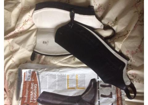 Chaps TREDSTEP Irland neuves cuir noir mollet35/H44