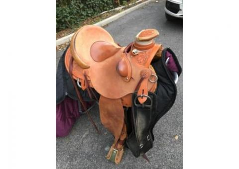 Vends Selle Western Yves Lesire