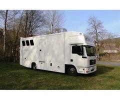 Camion Chevaux MAN TGL 8.180 Pferdetransporter