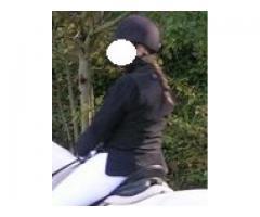 veste femme equithème noire T40
