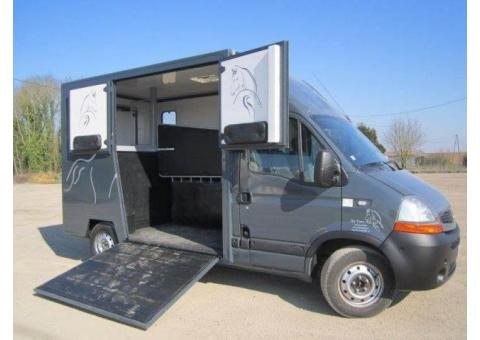 Camion 2 chevaux Renault Master L2 140 ch