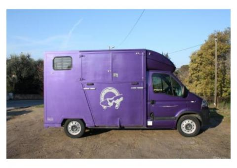 Camion chevaux Opel Movano 2.5 DCI