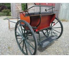 Calèche anglaise 2 roues