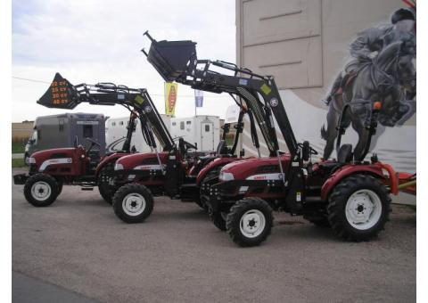 Tracteur compact neuf
