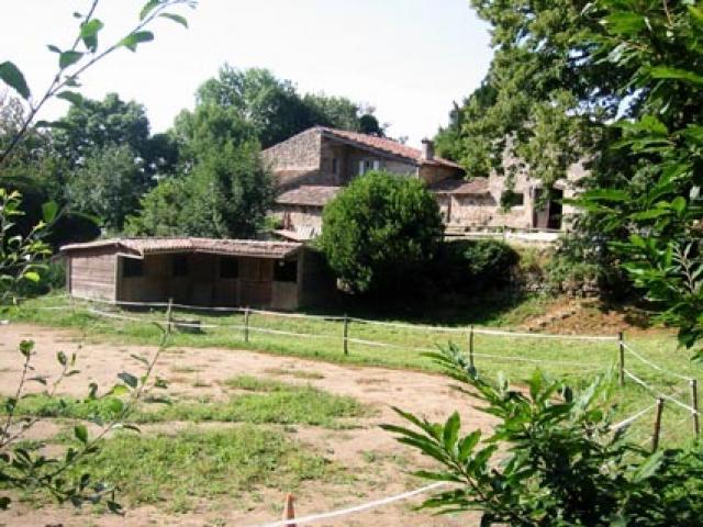 Loue propriété équestre du 16 éme sur 10 ha, à 30' de Valence