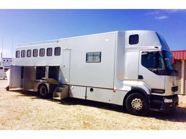 camion chevaux servol pl renault 420 cv dieppe