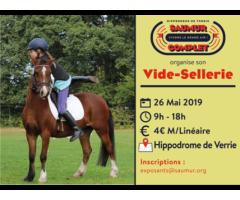 Vide Sellerie Saumur 2019