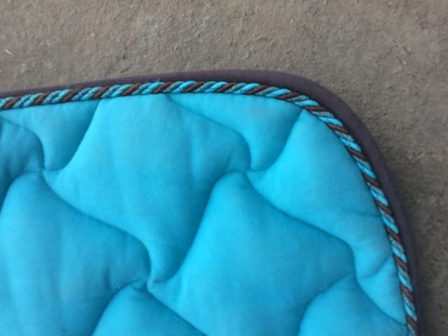 Tapis poney bleu Auquainville