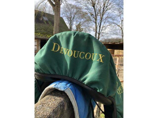 A vendre selle de dressage Devoucoux Mendia