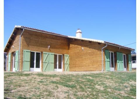 Propriété sur 8 ha avec maison neuve