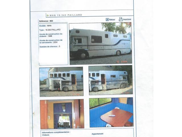 A vendre camion Paillard
